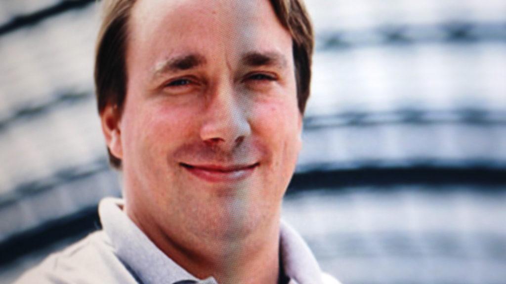 Der Finne Linus Torvalds ist der Erfinder von Linux; Rechte: WDR/Schieb