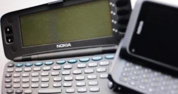 Nokia Communicator 9000: Ein smares Phone, aber noch kein Smartphone; Rechte: WDR/Schieb