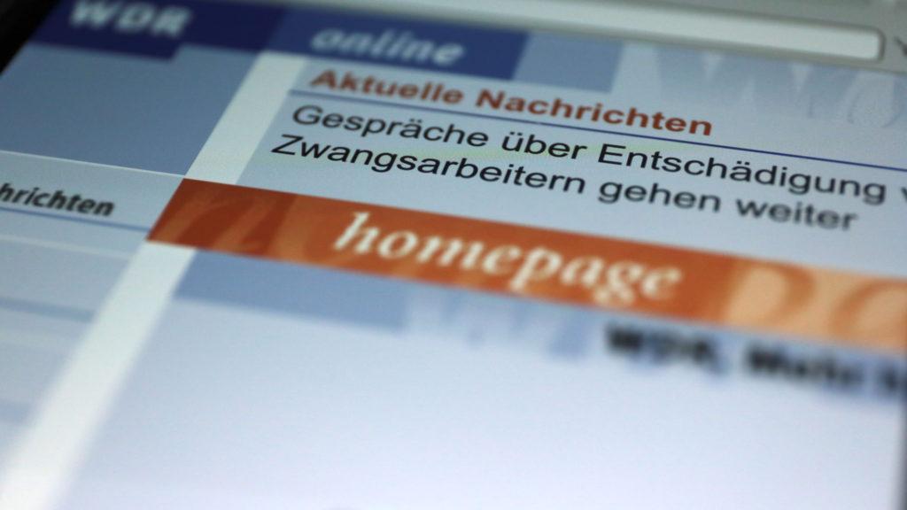 Die WDR-Homepage von 1997 ansteuern? Kein Problem... ; Rechte: WDR/Schieb