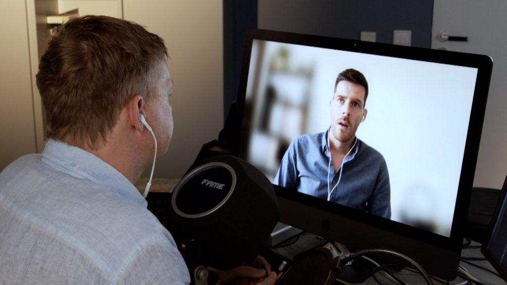 Im Interview mit Guido Bülow von Facebook; Rechte: WDR/Schieb