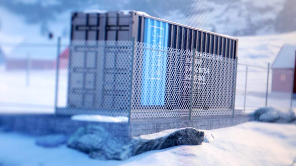 Rechenzentren in kalten Gegenden ersparen die Klimaanlage; Rechte: WDR/Schieb