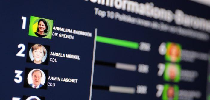 Die meisten Desinformations-Kampagnen richten sich derzeit gegen Annalena Baerbock; Rechte; WDR/Schieb