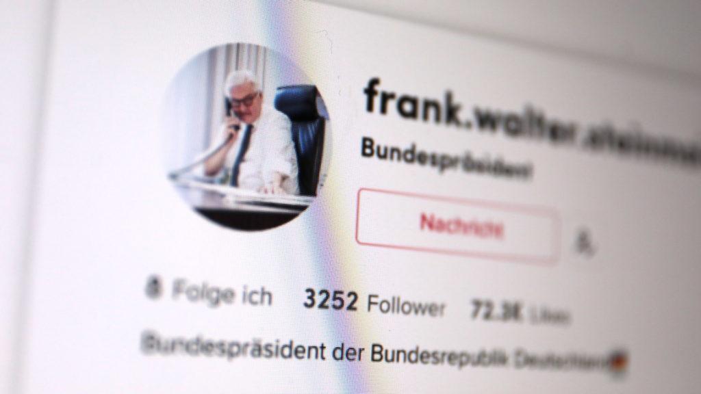 Auch diesen Fake-Account hat TikTok nicht verhindert; Rechte: WDR/Schieb