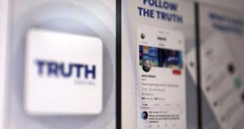 """Donald Trump ist mit einem eigenen Network namens """"Truth Social"""" gestartet; Rechte: WDR/Schieb"""
