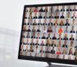 Kandidatenporträts auf Bildschirm WDR [m]