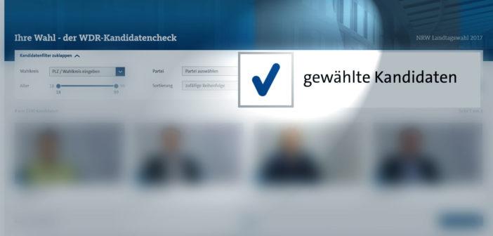 Gewählt-Haken im Kandidatencheck