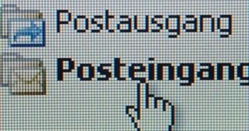Screenshot E-Mail-Programm; Rechte: dpa