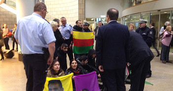 Kurden-Demo im Landtag/Bildrechte: WDR/Klask