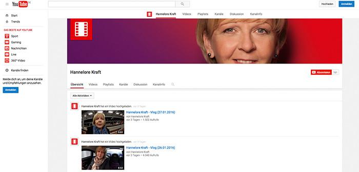 Kraft bei Youtube, Rechte: WDR/Youtube