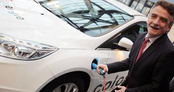 Groschek stellt Modellprojekt zur Elektromobilität vor