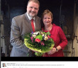 Hpchzeitsbild Sylvia Löhrmann/Bildrechte: WDR/Twitter-Account Sylvia Löhrmann