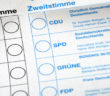 Ausschnitt eines Stimmzettels