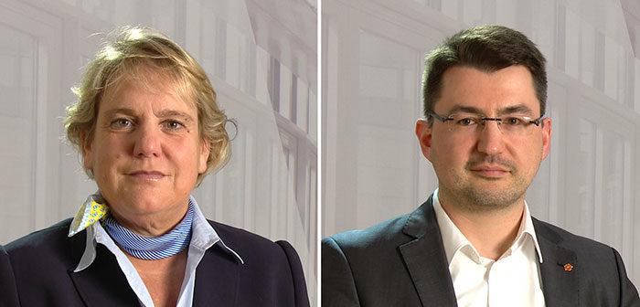 Martina Hannen und Christian Sauter