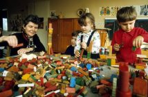Kindergarten in den 80er (Bild: imago)