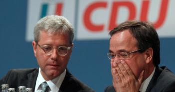 Norbert Röttgen und Armin Laschet (Foto: Reuters)
