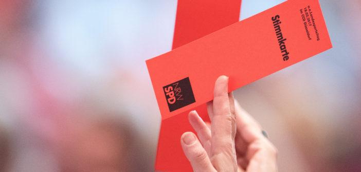 Landesparteitag der NRW-SPD (Foto: dpa)