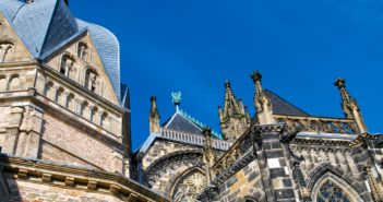 Detail des Aachener Doms (Foto: ddp)