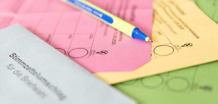Die Stimmzettel zur Wahl (Foto: WDR)