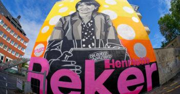 Wandgemälde zur Wahl von Henriette Reker (Foto: dpa)