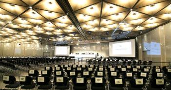 Der Verhandlungssaal für den Loveparade-Prozess, Rechte: Ina Fassbender/dpa